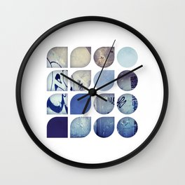 Cold Comfort Collage — Abandoned Wall Clock