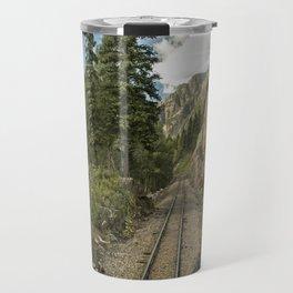 Tracks to where? Travel Mug