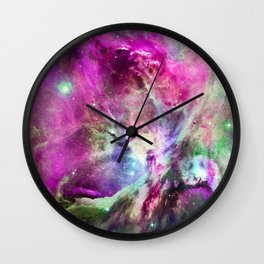 NEBULA ORION HEAVENLY CELESTIAL MIRACLE Wall Clock