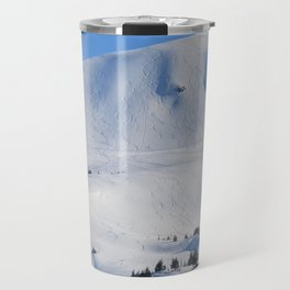 Back-Country Skiing  - III Travel Mug