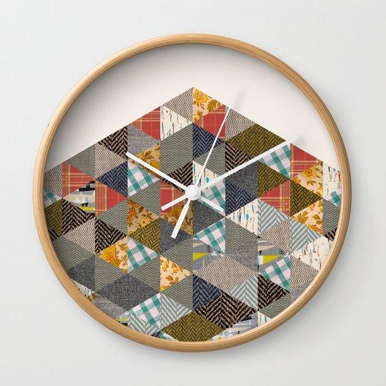 Scraps Wall Clock