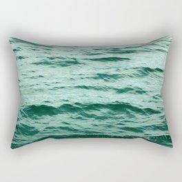 Aqua Ocean Rectangular Pillow