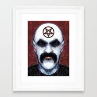 pentagram Framed Art Prints featuring PENTAGRAM by Laertis Art
