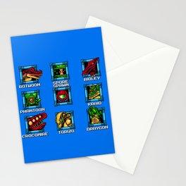 MEGATROID (Metroid MegaMan) Stationery Cards