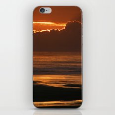 Sunset at the Beach iPhone & iPod Skin