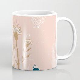 Magic Garden - Pink and Gold Coffee Mug