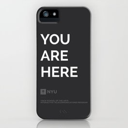 YOU ARE HERE  [Gotham] iPhone Case