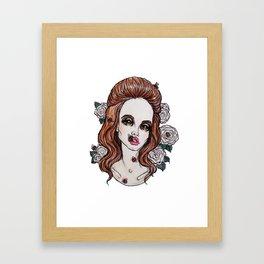 BEES-LanaDelRay Framed Art Print