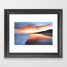 Summer Sunrise Framed Art Print