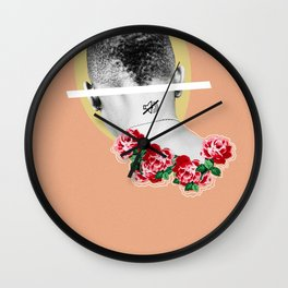 sometimes you just gotta put the world on mute Wall Clock