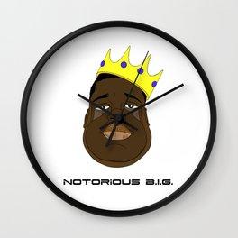 Notorious B.I.G. Wall Clock