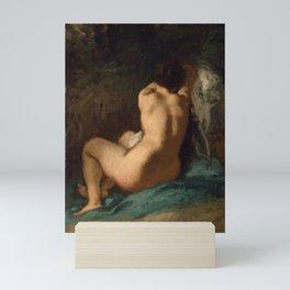 """Jean-François Millet """"Seated Nude"""" Mini Art Print"""