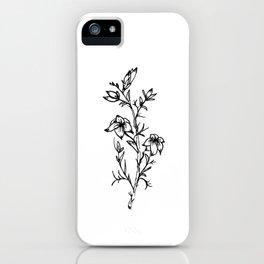 Carolina Jessamine Wildflower iPhone Case