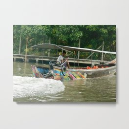 Boat For Hire Metal Print