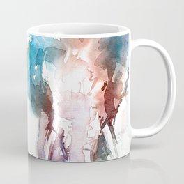 Elephant head / Abstract animal portrait. Coffee Mug