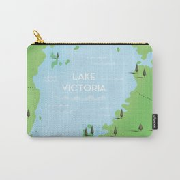 Lake Victoria Map Carry-All Pouch
