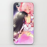madoka magica iPhone & iPod Skins featuring Puella Magi Madoka Magica by Mayuu