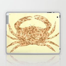 Sepia Floral Crab  Laptop & iPad Skin