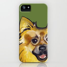 Molly the Pomeranian iPhone Case