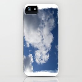 Clouds Over Hill iPhone Case