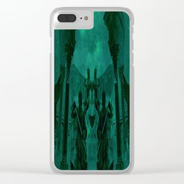 Fight Among the Gods Clear iPhone Case