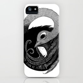 bird women 3 iPhone Case