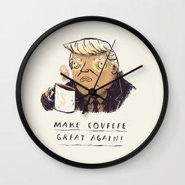 make covfefe great again! trump print Wall Clock
