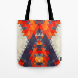 Abstract Triangle Mountain Tote Bag