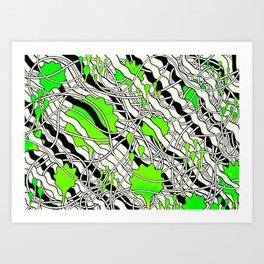 Dr. Malcolm Art Print