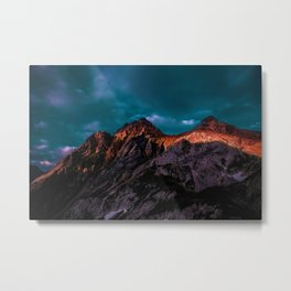 The Volcano Mountain (Color) Metal Print