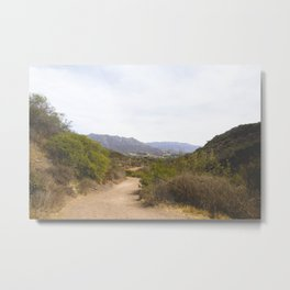 Wide Open Trail Metal Print
