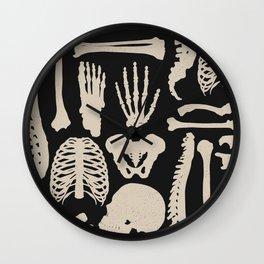 Osteology Wall Clock