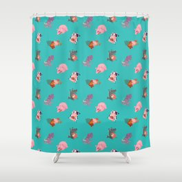 Animals Revenge Shower Curtain