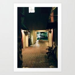 Alley Downtown Art Print
