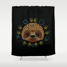 Sloth Face Shower Curtain