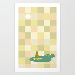 Zen Tile Art Print