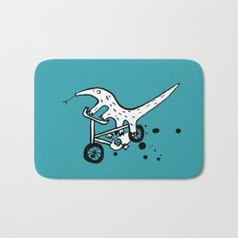 Anteater cyclists Bath Mat