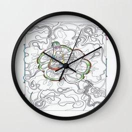 The Gathering Of The Clan 3  Wall Clock