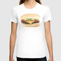 hamburger T-shirts featuring Hamburger by Tyler Keff Beasley