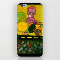 motorcycle iPhone & iPod Skins featuring Motorcycle  by Vera A. Fehér