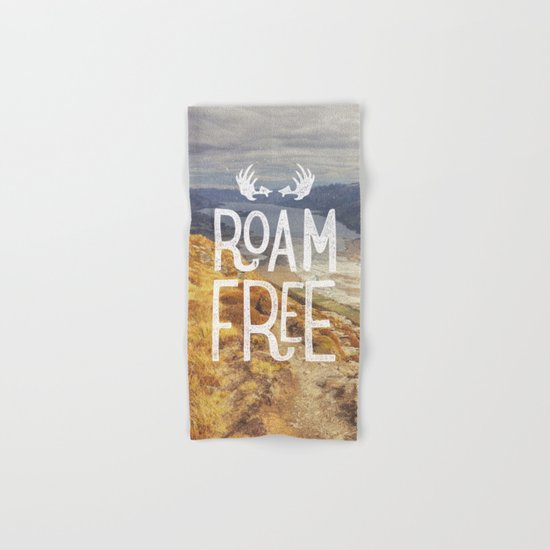 Roam Free NZ Hand & Bath Towel