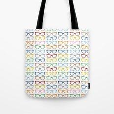 Rainbow Specs Tote Bag
