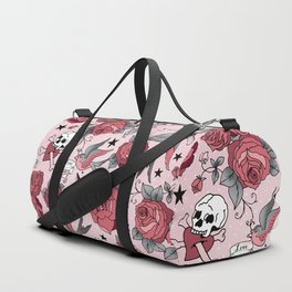 Girly Tattoo Duffle Bag