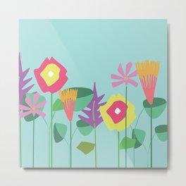 Matisse Garden Sky Metal Print