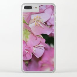 Bee in Flight Clear iPhone Case