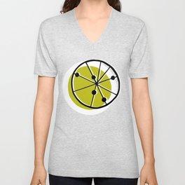 Atomic Lemonade_Green Unisex V-Neck