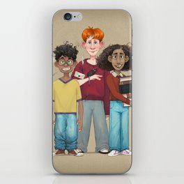 Dorky Kids Go To Private School iPhone Skin