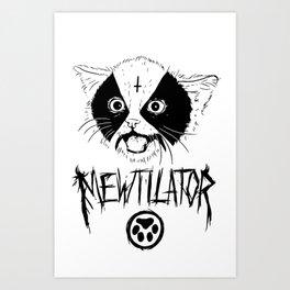 Mewtilator Art Print