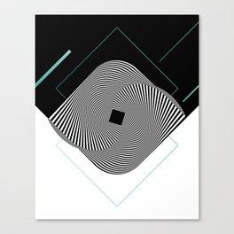 Op-Art Canvas Print