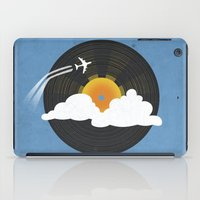 records iPad Cases featuring Sunburst Records by Dianne Delahunty